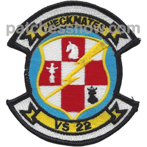 Vs-22 Sea Control Squadron Small Version Patch Military Tactical Patches Embroidered Sew On Or Iron