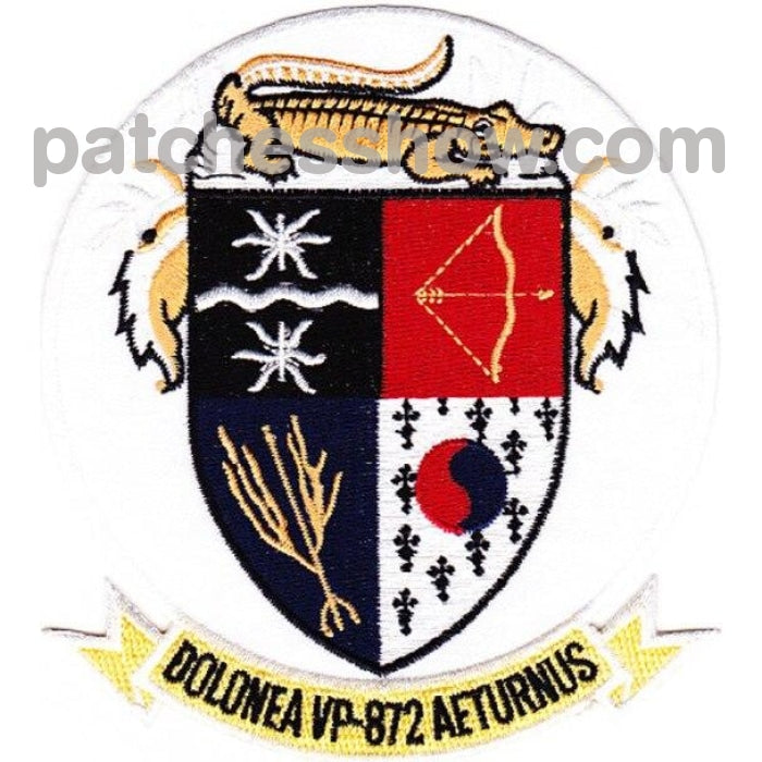 Vp-872 Patch Dolonea Aeturnus Military Tactical Patches Embroidered Sew On Or Iron On Velcro Usa