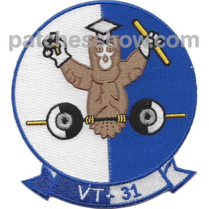 Vt-31 Patch Wise Owls Military Tactical Patches Embroidered Sew On Or Iron On Velcro Usa Wholesale