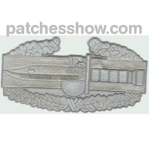 Combat Action Badge Back Patch Large Military Tactical Patches Embroidered Sew On Or Iron On Velcro