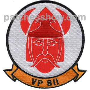 Vp-811 Patrol Squadron Patch Military Tactical Patches Embroidered Sew On Or Iron On Velcro Usa