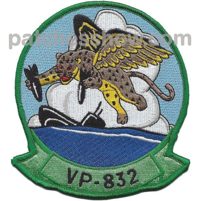 Vp-832 Patrol Squadron Patch Military Tactical Patches Embroidered Sew On Or Iron On Velcro Usa