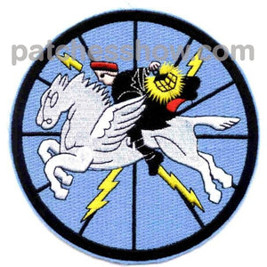 Vw-1 Patch Blue Version Typhoon Trackers Military Tactical Patches Embroidered Sew On Or Iron On