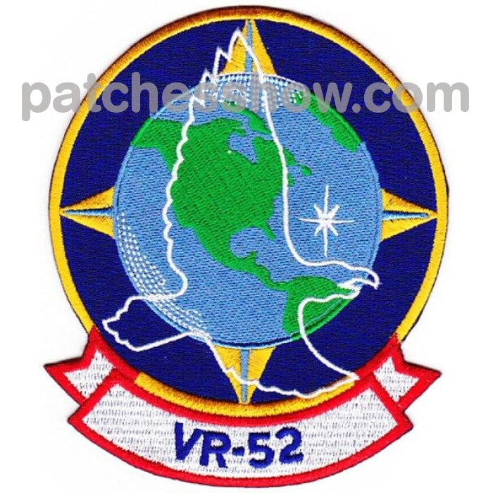 Vr-52 Fleet Logistics Support Squadron Patch Hook And Loop Military Tactical Patches Embroidered Sew
