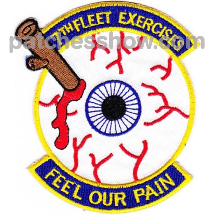 Seventh Fleet Exercises Feel Our Pain Patch Military Tactical Patches Embroidered Sew On Or Iron On
