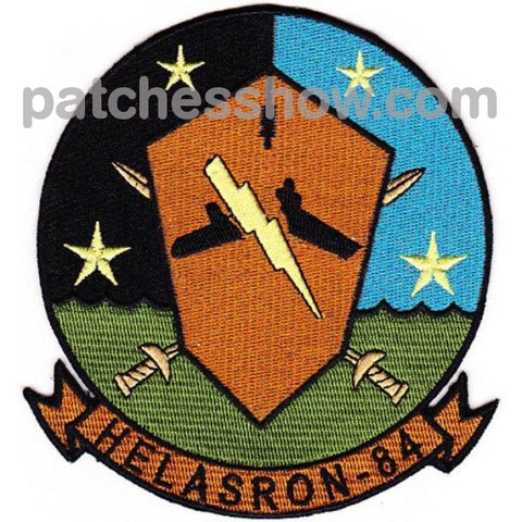 Hs-84 Anti-Submarine Warfare Squadron Patches Military Tactical Patches Embroidered Sew On Or Iron