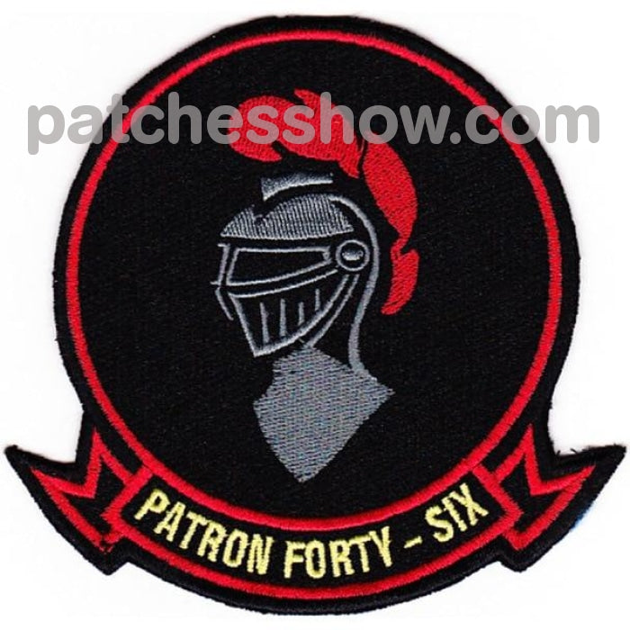 Vp-46 Patch The Grey Knights Military Tactical Patches Embroidered Sew On Or Iron On Velcro Usa