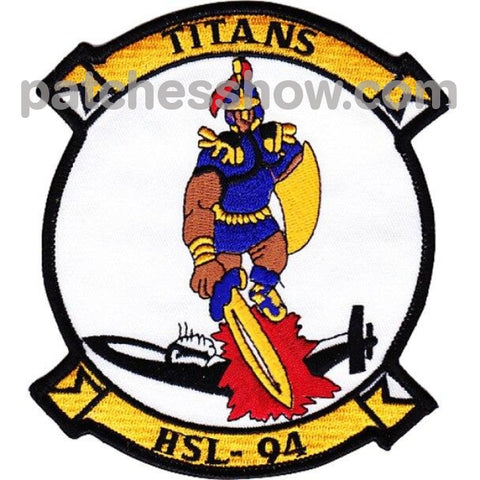 Hsl-94 Titans Patches Military Tactical Patches Embroidered Sew On Or Iron On Velcro Usa Wholesale