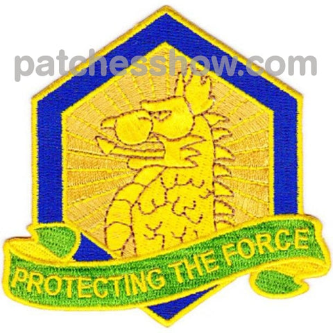455Th Chemical Brigade Protecting The Force Patch Military Tactical Patches Embroidered Sew On Or