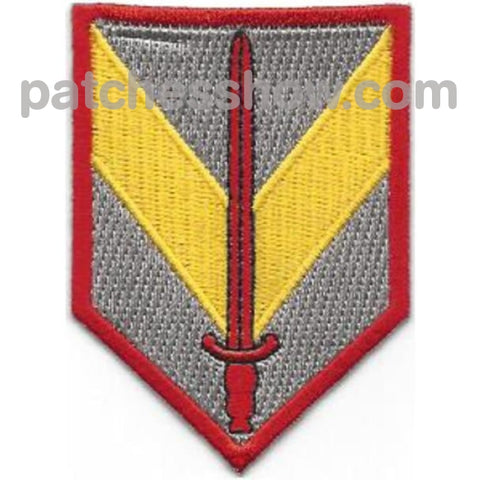1St Sustainment Brigade Shoulder Sleeve Patch Military Tactical Patches Embroidered Sew On Or Iron