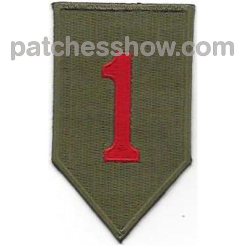 1St Infantry Division Patch Military Tactical Patches Embroidered Sew On Or Iron On Velcro Usa