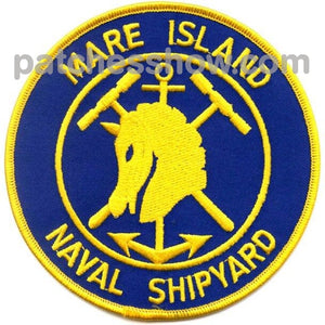 Shipyard Mare Island Patch Military Tactical Patches Embroidered Sew On Or Iron On Velcro Usa