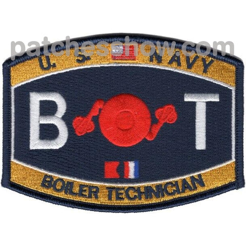 Engineering Rating Boiler Technician Patches Military Tactical Patches Embroidered Sew On Or Iron On