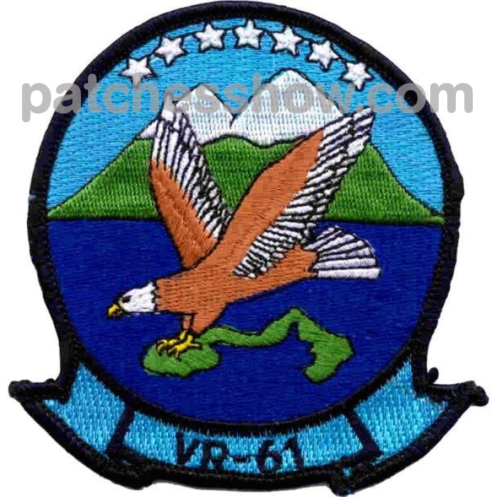 Vr-61 Air Fleet Logistics Support Squadron Sixty One Patch Military Tactical Patches Embroidered Sew