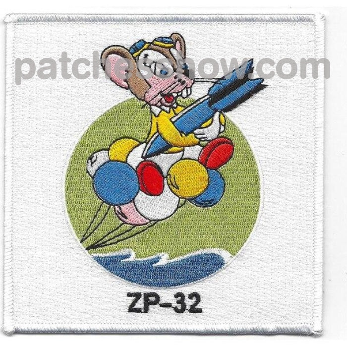 Zp-32 Patch The Flying Mouse Military Tactical Patches Embroidered Sew On Or Iron On Velcro Usa