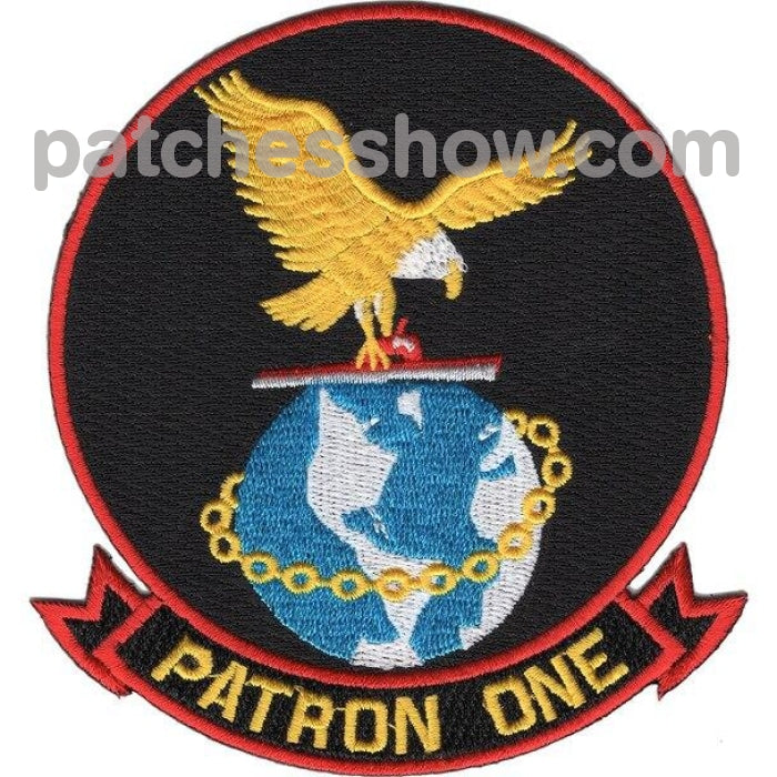 Vp-1 Patrol Squadron One Patch Military Tactical Patches Embroidered Sew On Or Iron On Velcro Usa