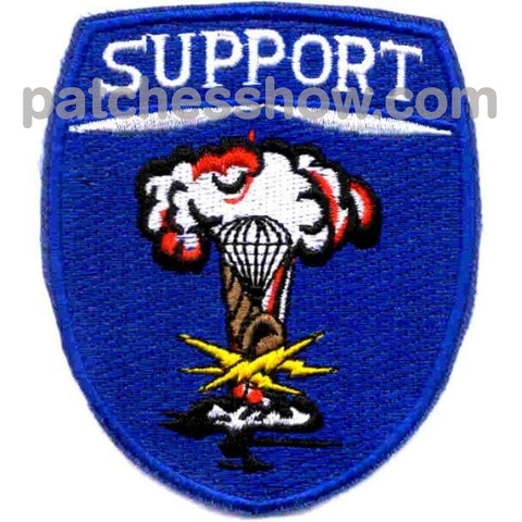 82Nd Airborne Support Battalion Patch Military Tactical Patches Embroidered Sew On Or Iron On Velcro