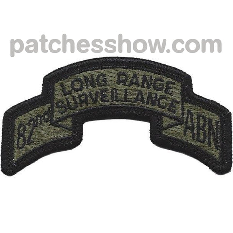 82Nd Lrs Airborne Infantry Od Green Patch Military Tactical Patches Embroidered Sew On Or Iron On