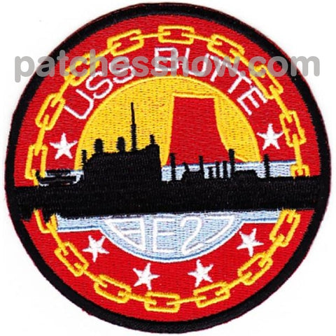 Uss Butte Ae-27 Patch Military Tactical Patches Embroidered Sew On Or Iron On Velcro Usa Wholesale