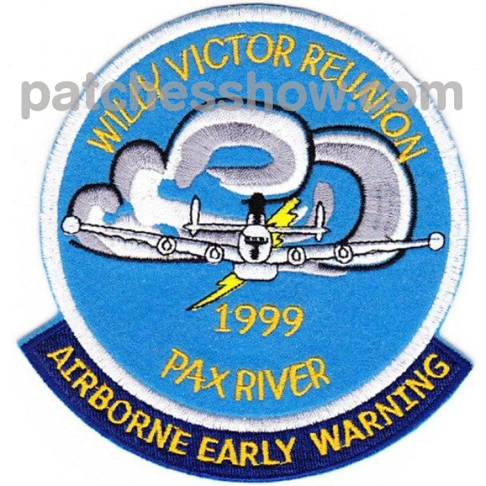 Willy Victor Group Patch Reunion Pax River Military Tactical Patches Embroidered Sew On Or Iron On