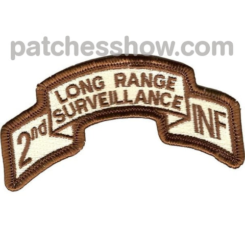 2Nd Infantry Long Range Desert Patch Military Tactical Patches Embroidered Sew On Or Iron On Velcro