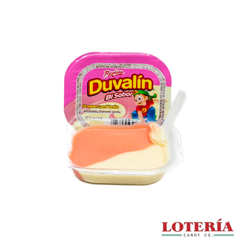 Duvalin taste like flavored frostings but less sweet. It contains the perfect amount of sugar. The candy is creamy and super delicious.