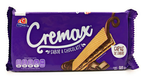 Cremax Chocolate Wafer Cookies 90g