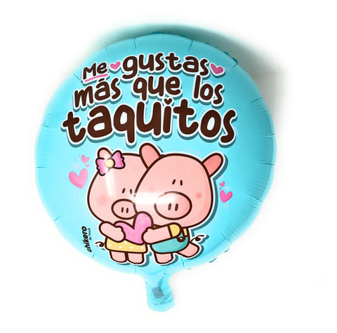 Globitos is a brand of inflatable balloons from Los Angeles that with its Mexican touch and humor has differentiated itself from the others.