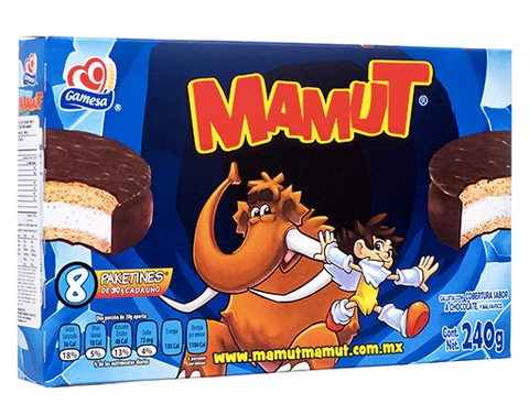 Mamut Chocolate Covered Marshmallow Cookie