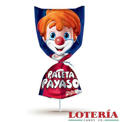 Paleta Payaso 10ct