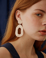 Cut Out Dangle Earring