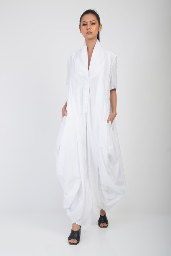 Asahi Deconstructed Draped Jumpsuit