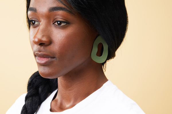 Cut Out Earring