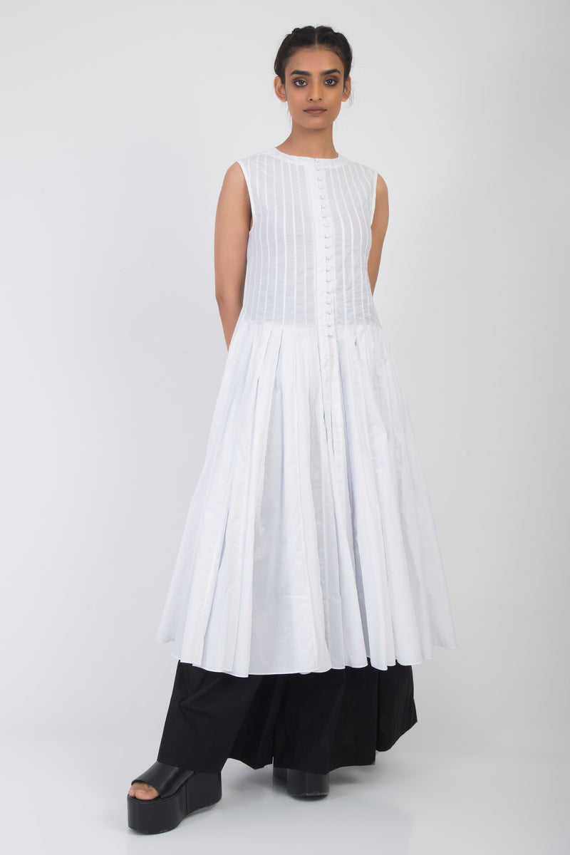Kumi Pleated Circle Dress