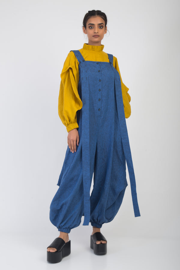 Nicole Pinafore Balloon Jumpsuit