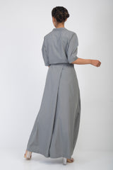 Reo Lapel Structured Jumpsuit