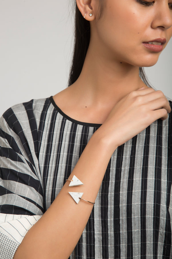 Triangle Spiral Bangle