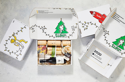 christmas tukr hamper gift box