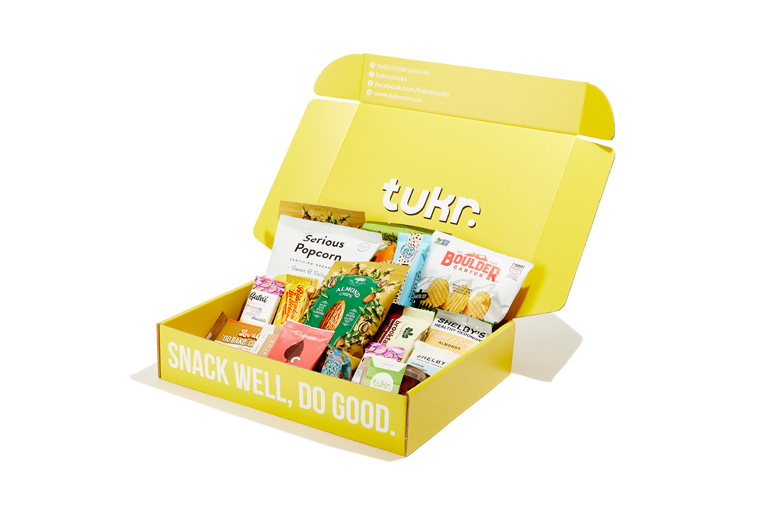Tukr remote work pack - 15 healthy snacks for work