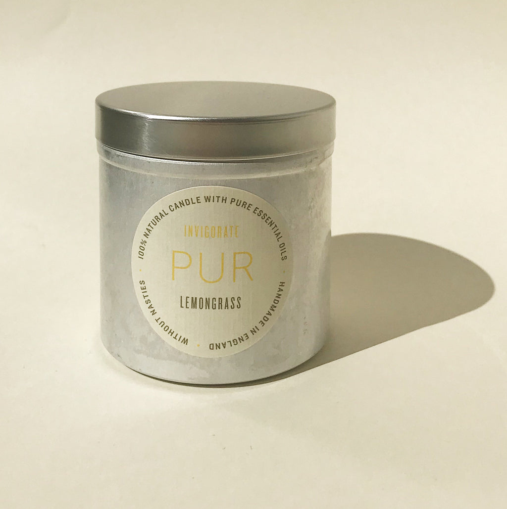 INVIGORATE Tin Candle - PUR Candles