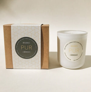 INVIGORATE single wick - PUR Candles