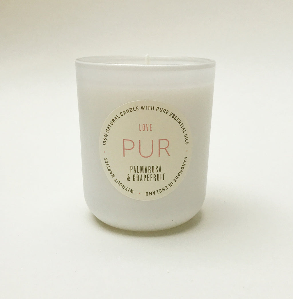LOVE single wick candle - PUR Candles