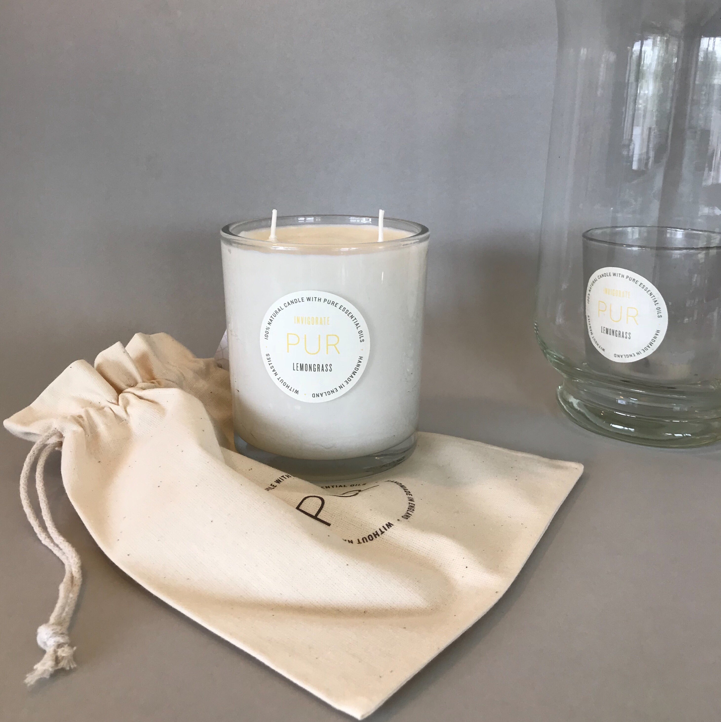 INVIGORATE 3 wick candle - PUR Candles