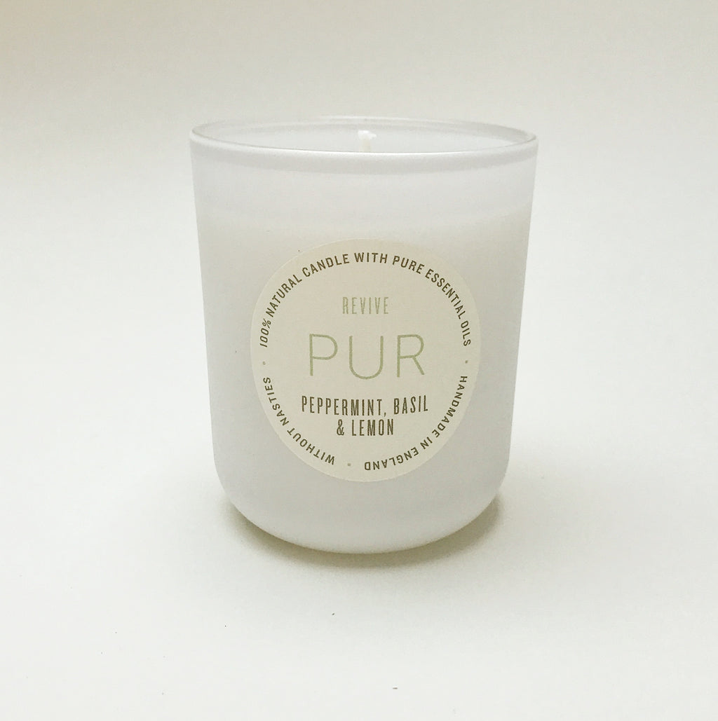 REVIVE single wick candle - PUR Candles