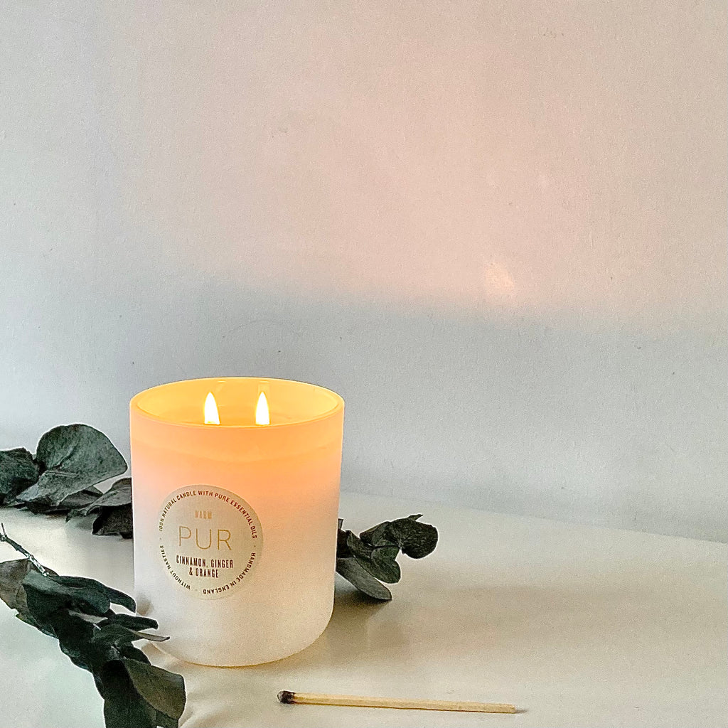 2 Wick Warm Candle