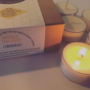 INVIGORATE tea lights - PUR Candles