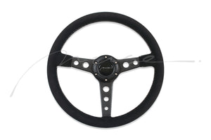 Dry Carbon Classic Racing Steering Wheel