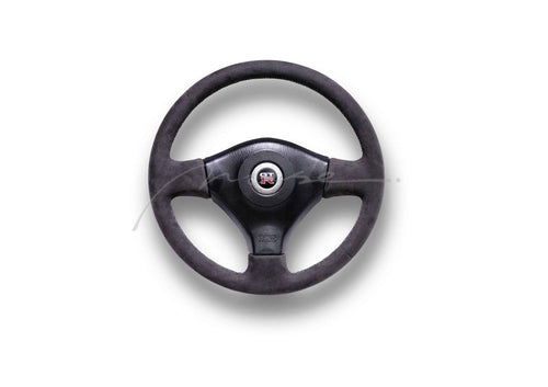 MUSE Japan NISSAN SKYLINE R34 GTR Alcantara Steering Wheel