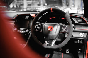 MUSE Japan HONDA FK8 CIVIC TYPE R ALCANTARA Steering Wheel