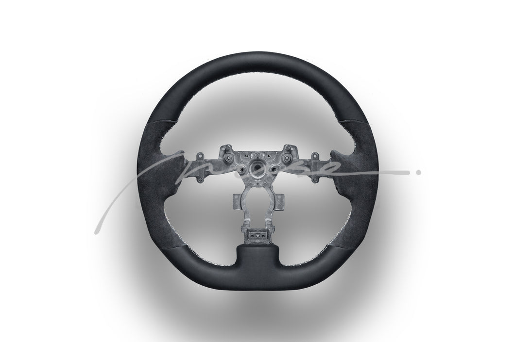 MUSE Japan NISSAN R35 GTR Flat Bottom Steering wheel